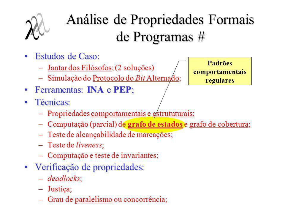 Análise de Propriedades Formais de Programas #