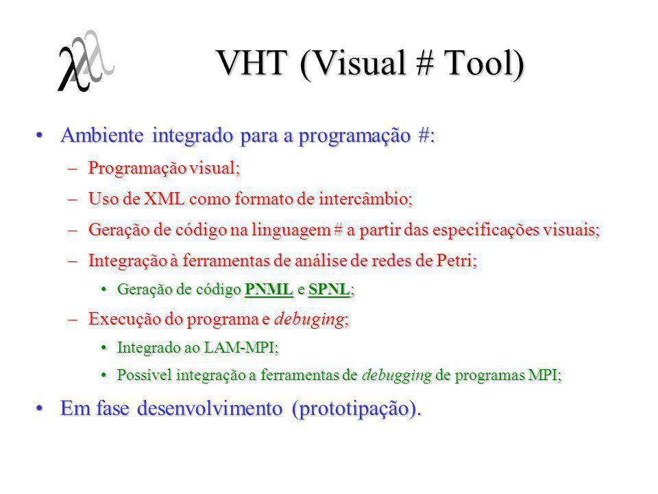 VHT (Visual # Tool) Ambiente integrado para a programação #:
