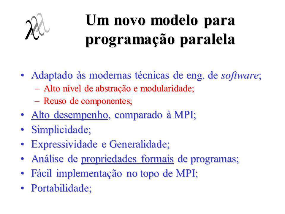 Um novo modelo para programação paralela