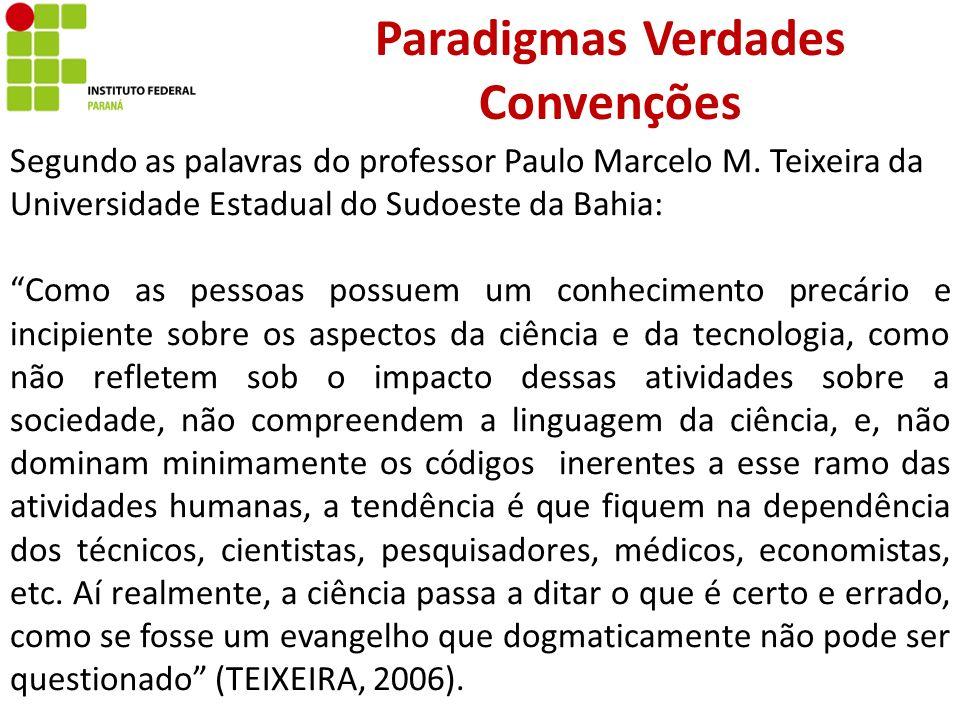 Paradigmas Verdades Convenções
