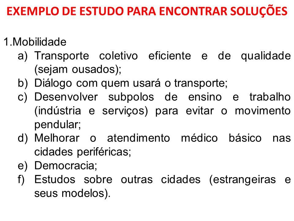 EXEMPLO DE ESTUDO PARA ENCONTRAR SOLUÇÕES