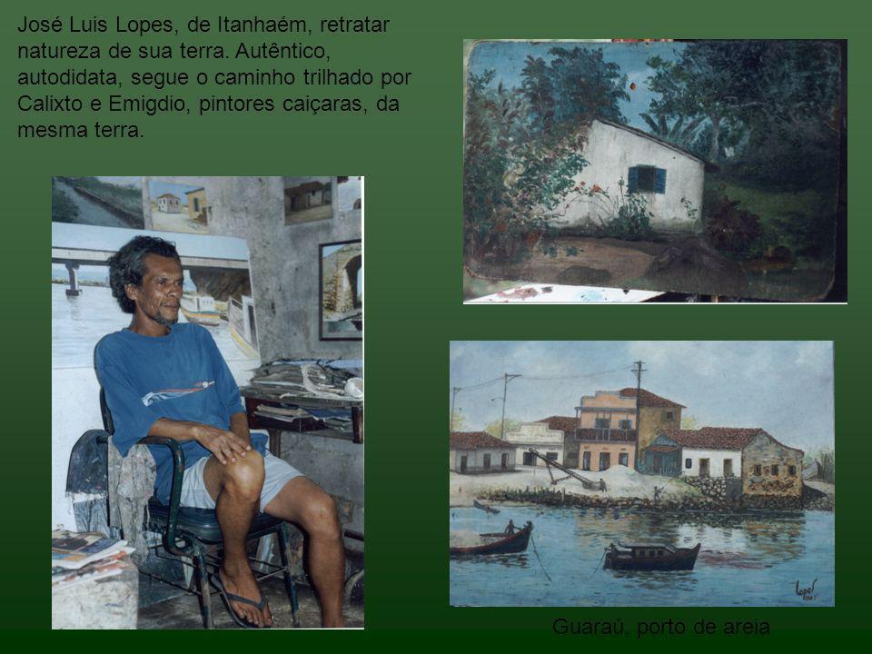 José Luis Lopes, de Itanhaém, retratar natureza de sua terra