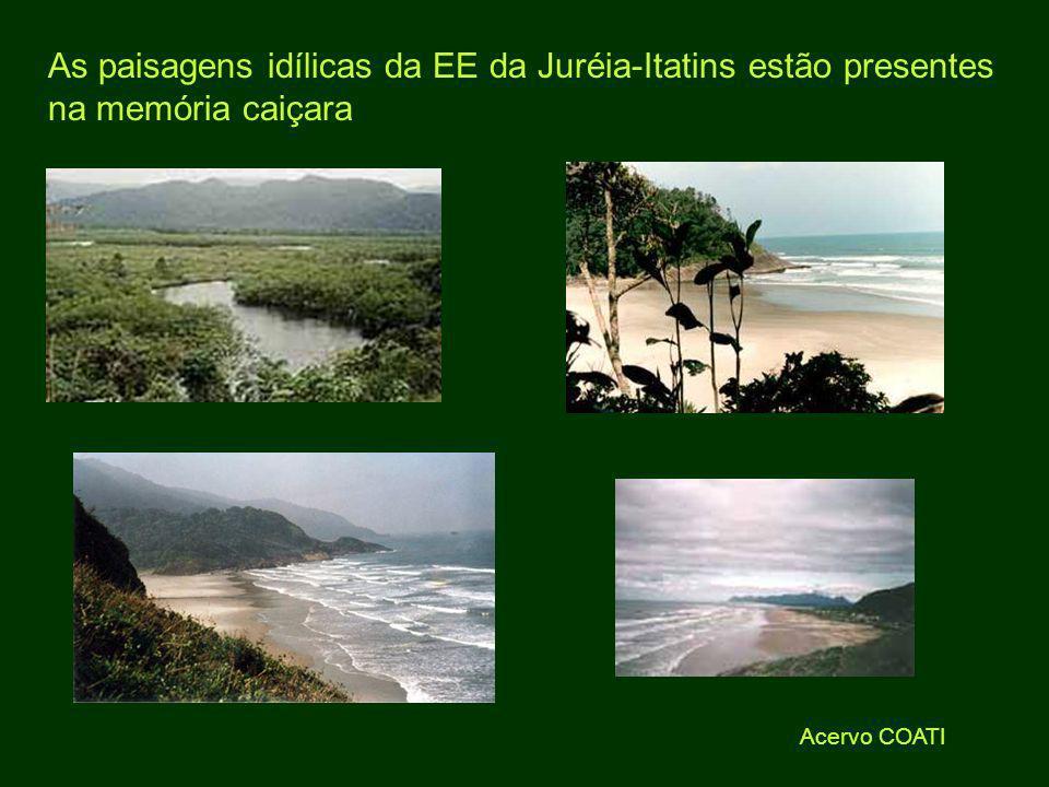 As paisagens idílicas da EE da Juréia-Itatins estão presentes na memória caiçara