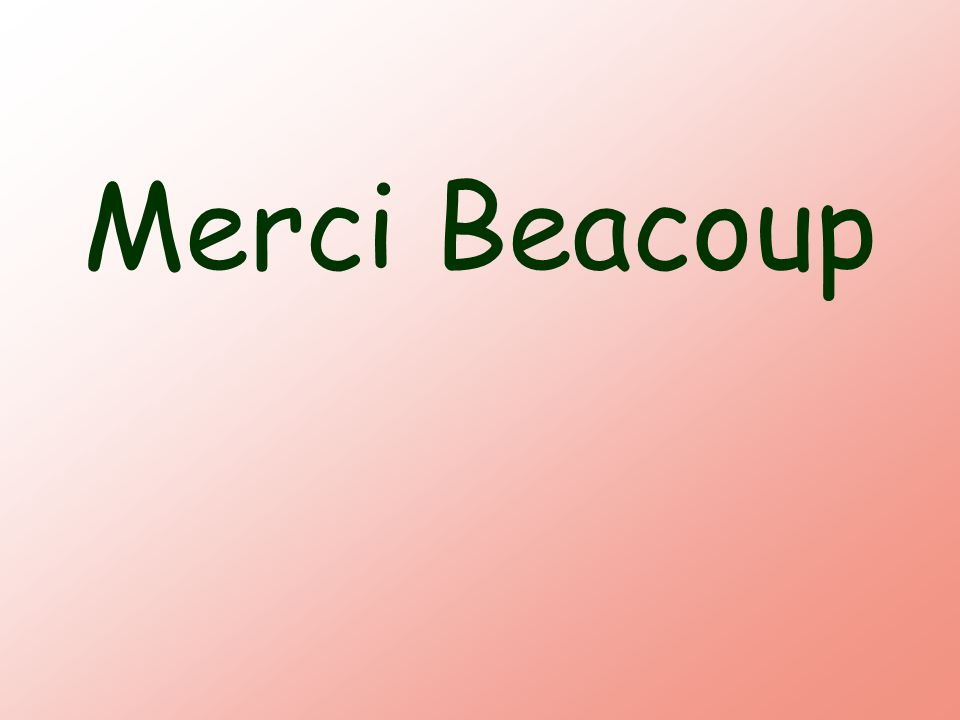Merci Beacoup