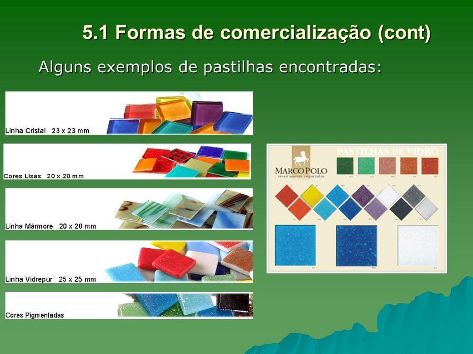 5.1 Formas de comercialização (cont)