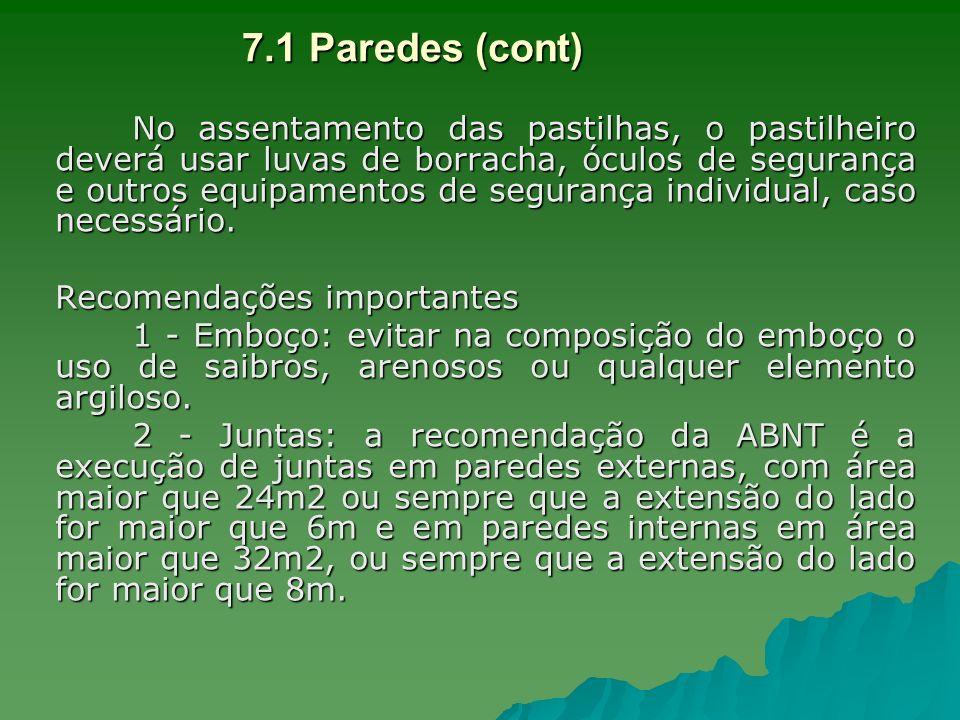 7.1 Paredes (cont)