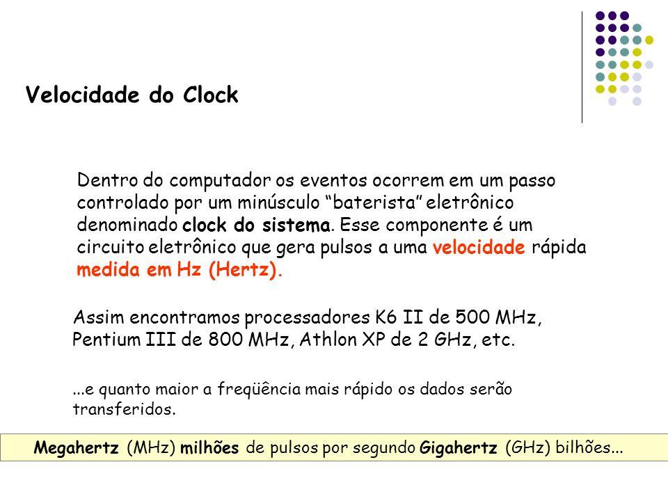 Velocidade do Clock