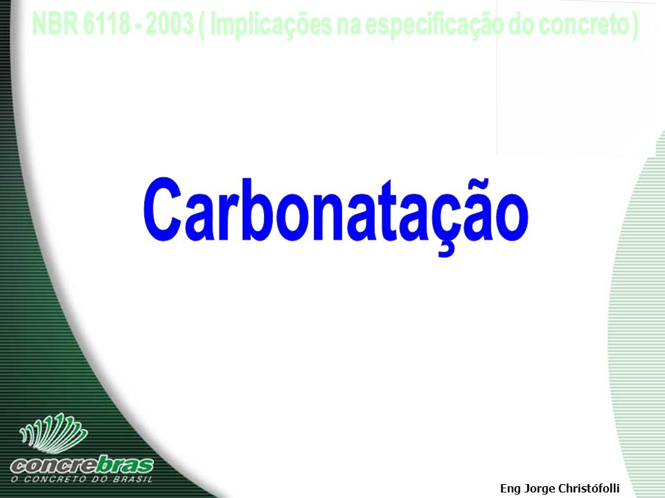 Carbonatação