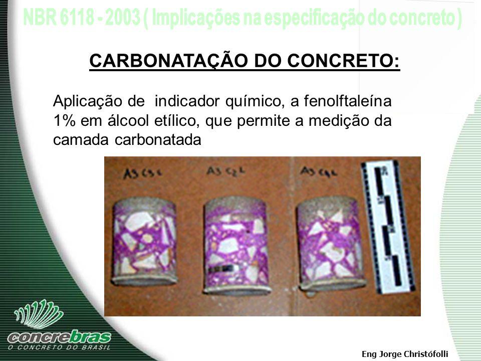 CARBONATAÇÃO DO CONCRETO: