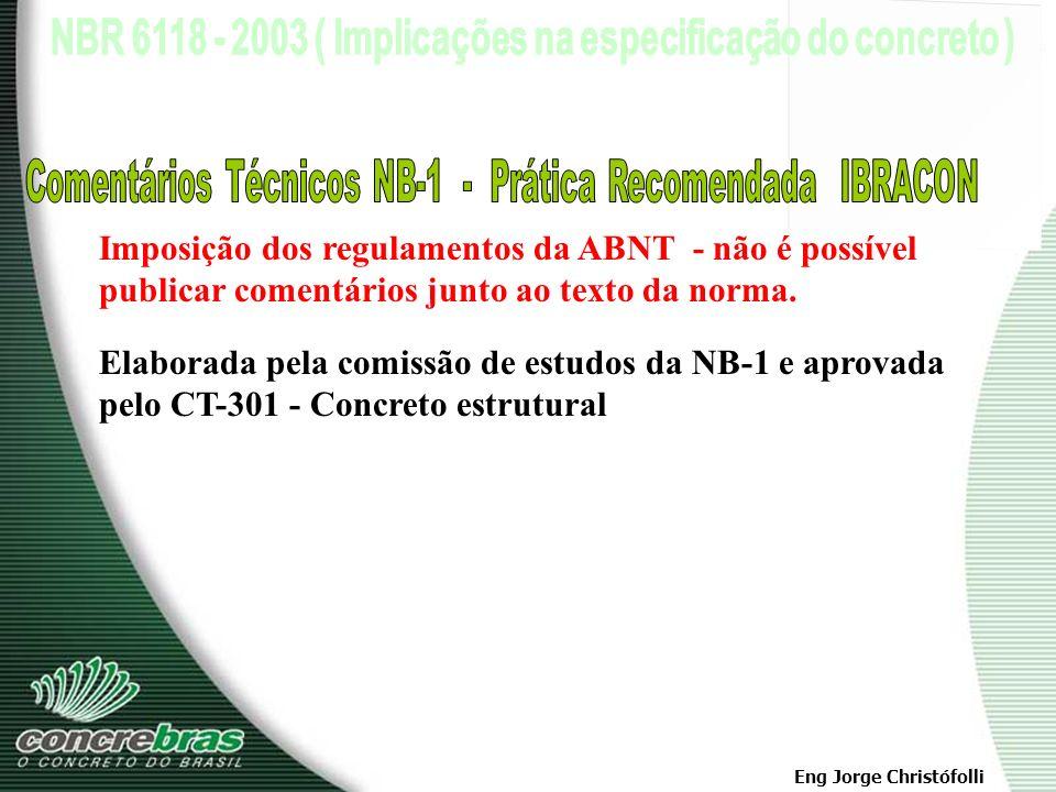 Comentários Técnicos NB-1 - Prática Recomendada IBRACON