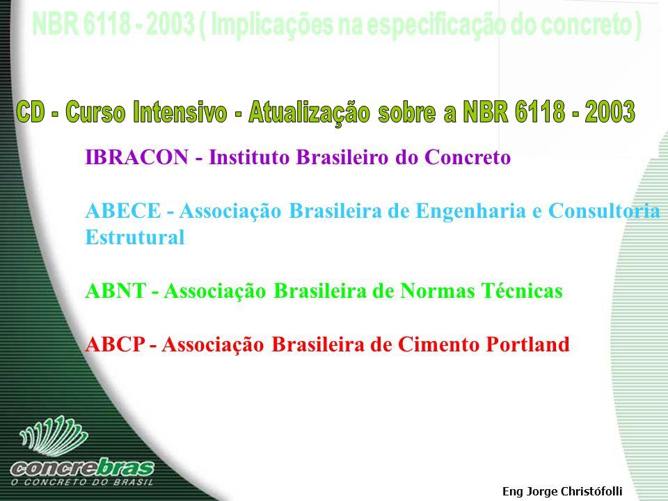 CD - Curso Intensivo - Atualização sobre a NBR 6118 - 2003