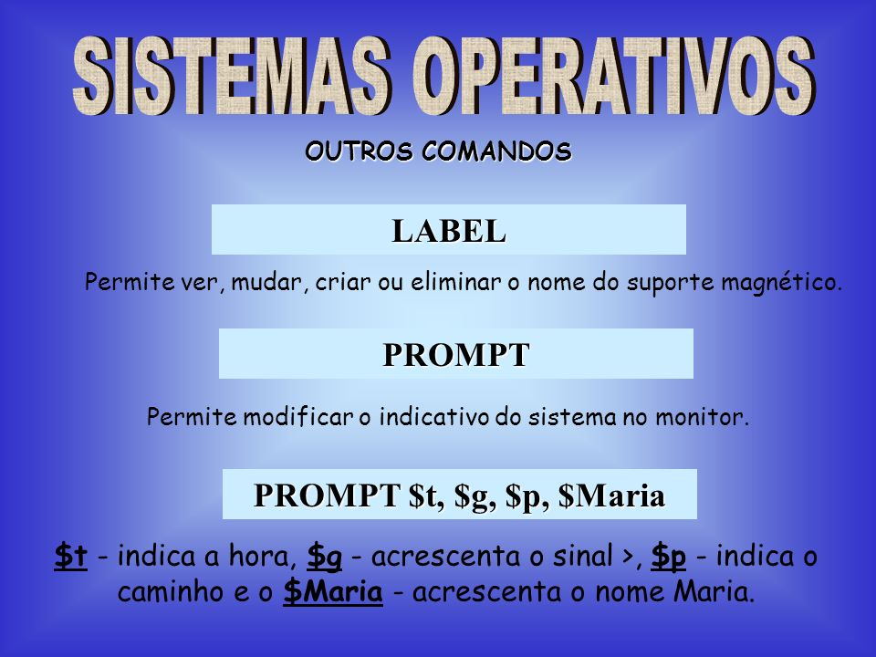 LABEL PROMPT PROMPT $t, $g, $p, $Maria
