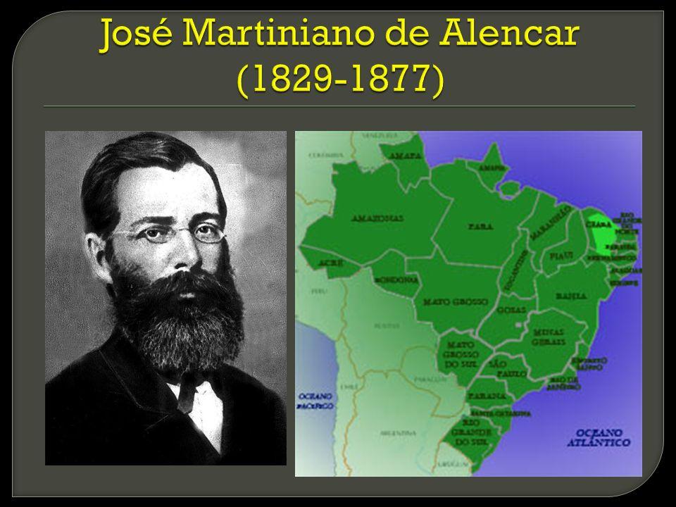 José Martiniano de Alencar (1829-1877)