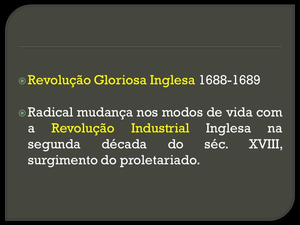 Revolução Gloriosa Inglesa 1688-1689