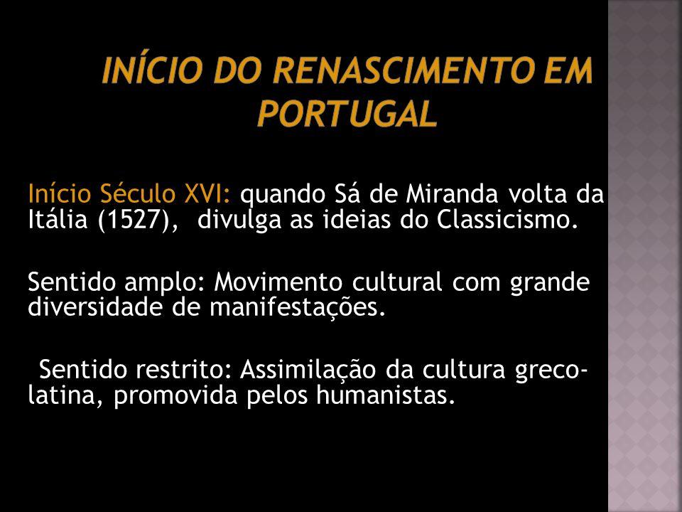 Início do Renascimento em Portugal