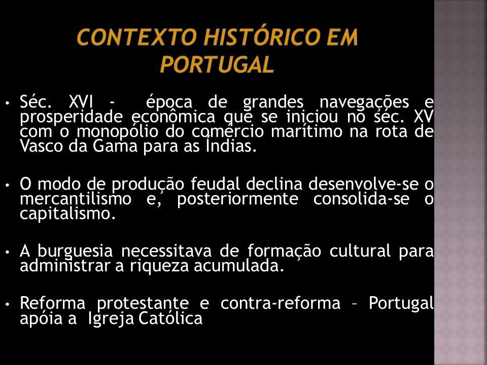 Contexto Histórico em Portugal
