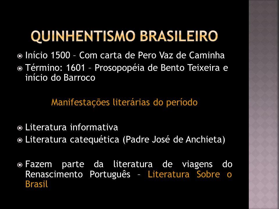 Quinhentismo Brasileiro