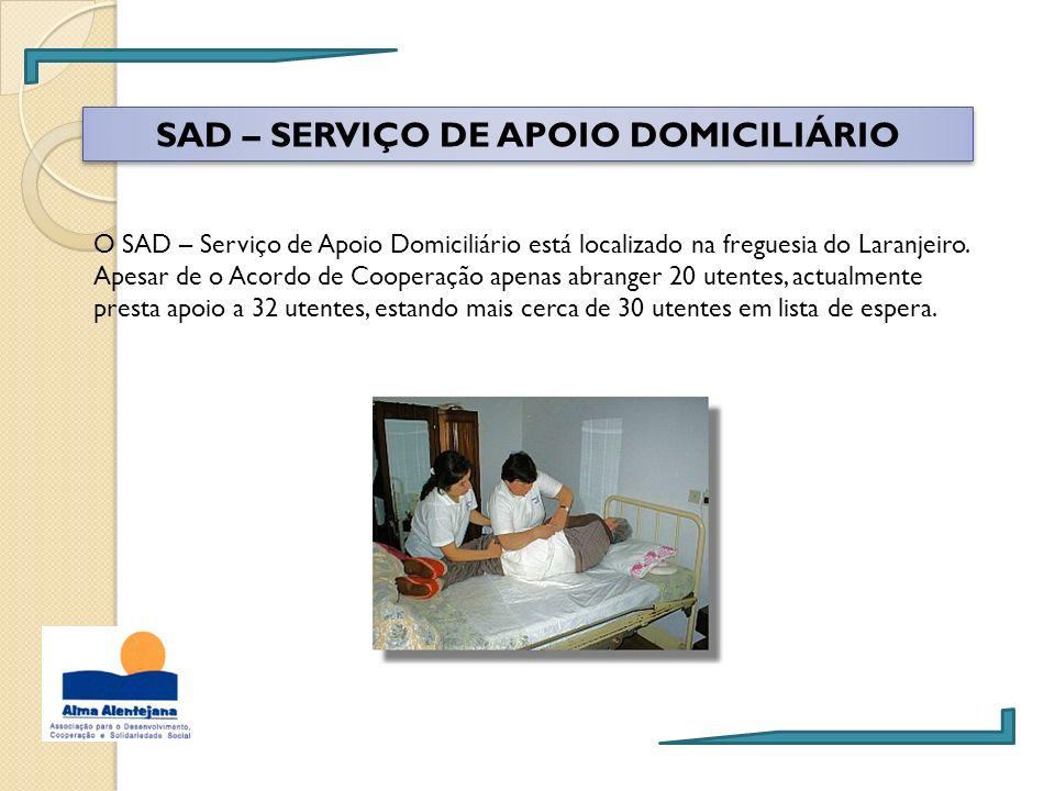 SAD – SERVIÇO DE APOIO DOMICILIÁRIO
