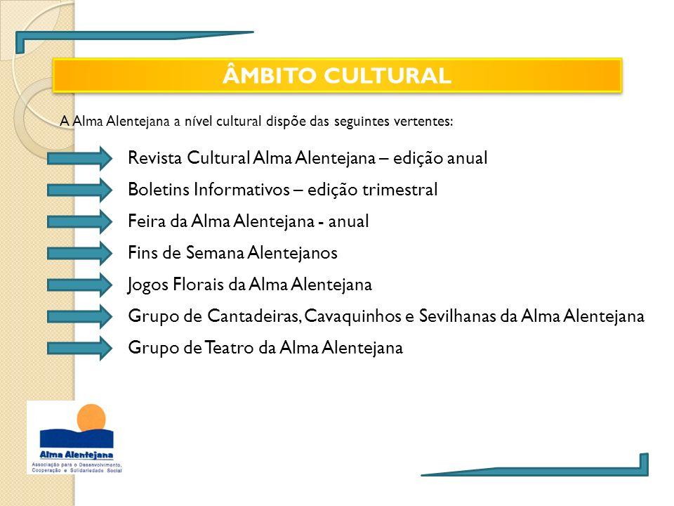 ÂMBITO CULTURAL Revista Cultural Alma Alentejana – edição anual