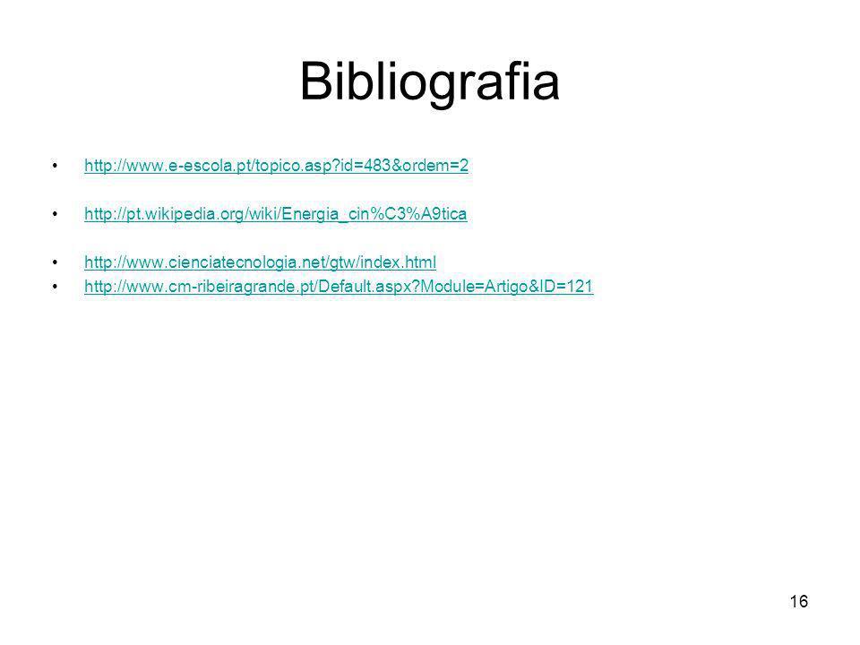 Bibliografia http://www.e-escola.pt/topico.asp id=483&ordem=2