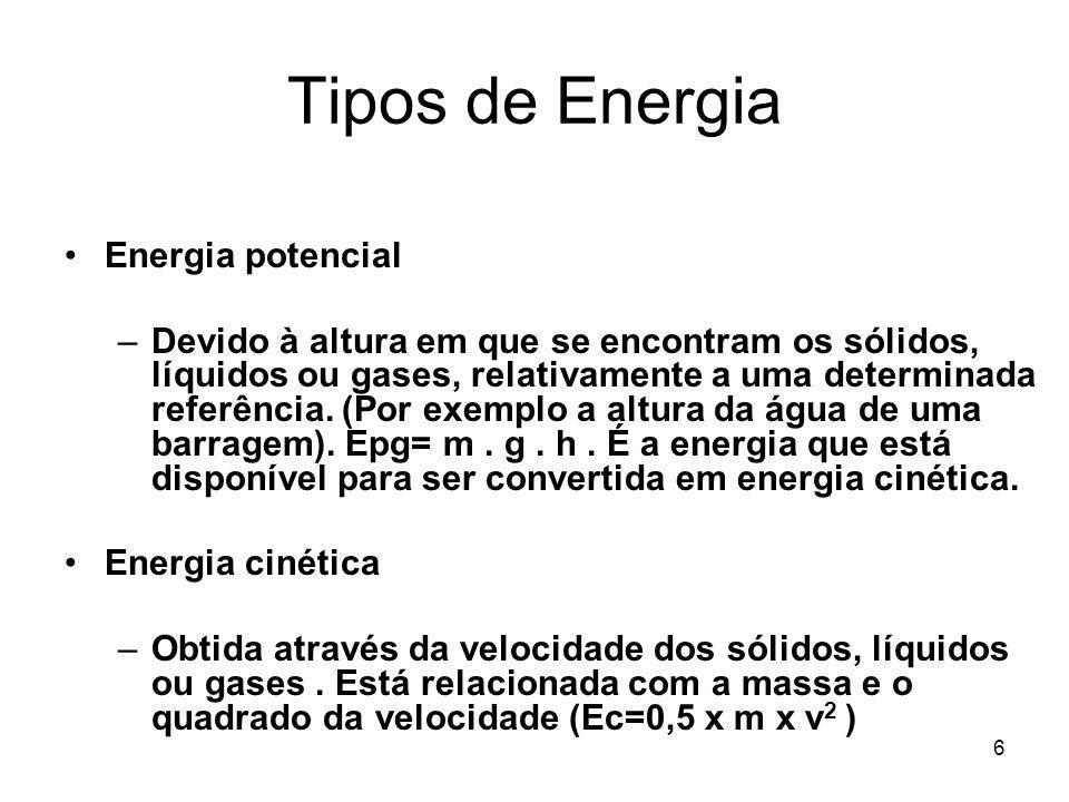 Tipos de Energia Energia potencial
