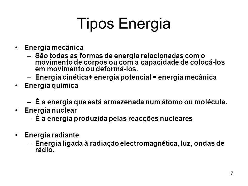 Tipos Energia Energia mecânica