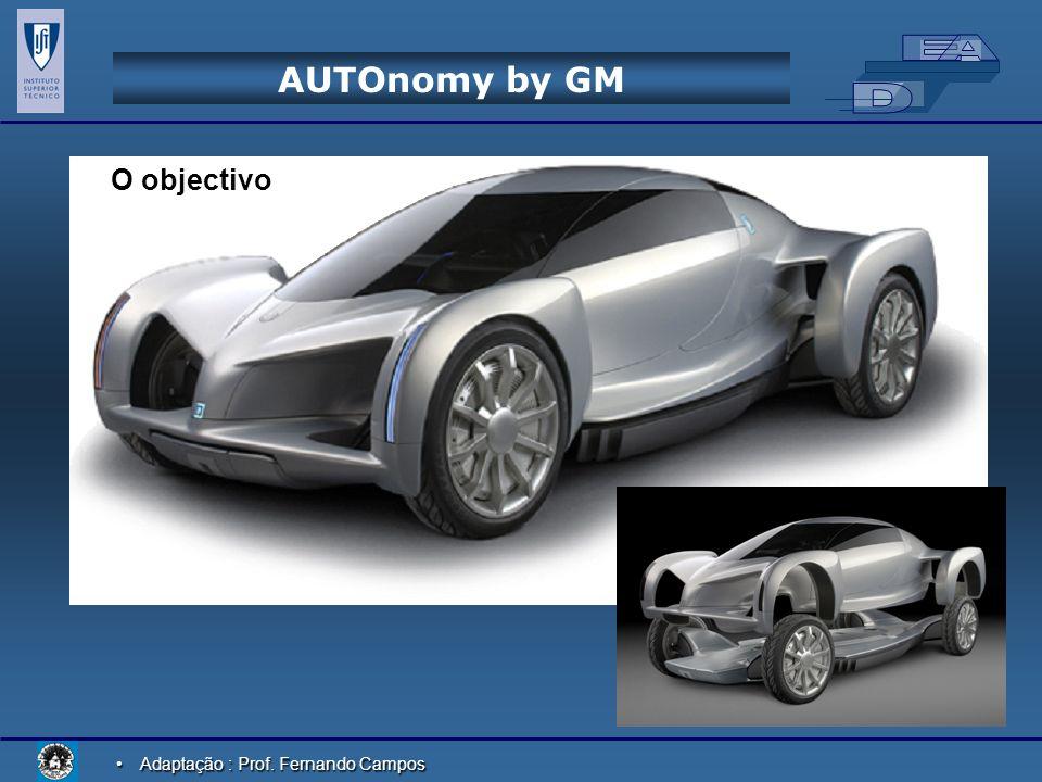 AUTOnomy by GM O objectivo