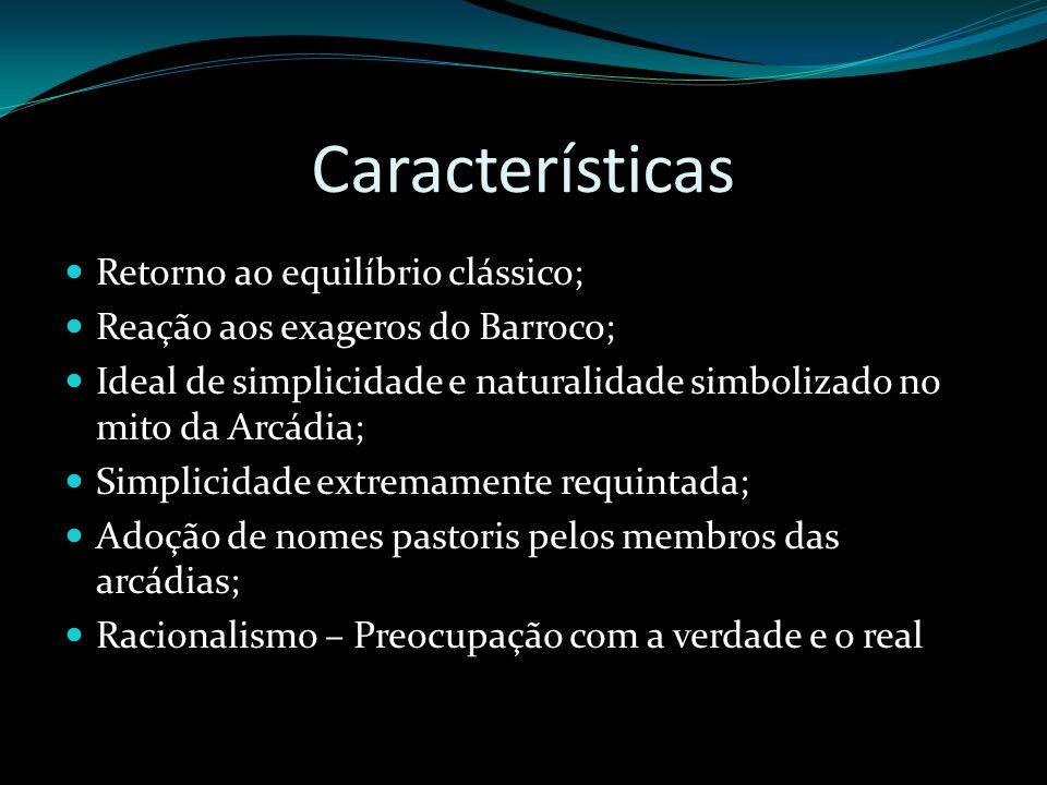 Características Retorno ao equilíbrio clássico;