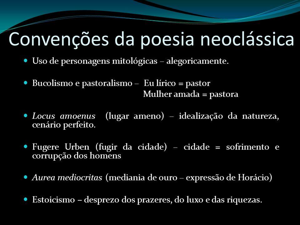 Convenções da poesia neoclássica