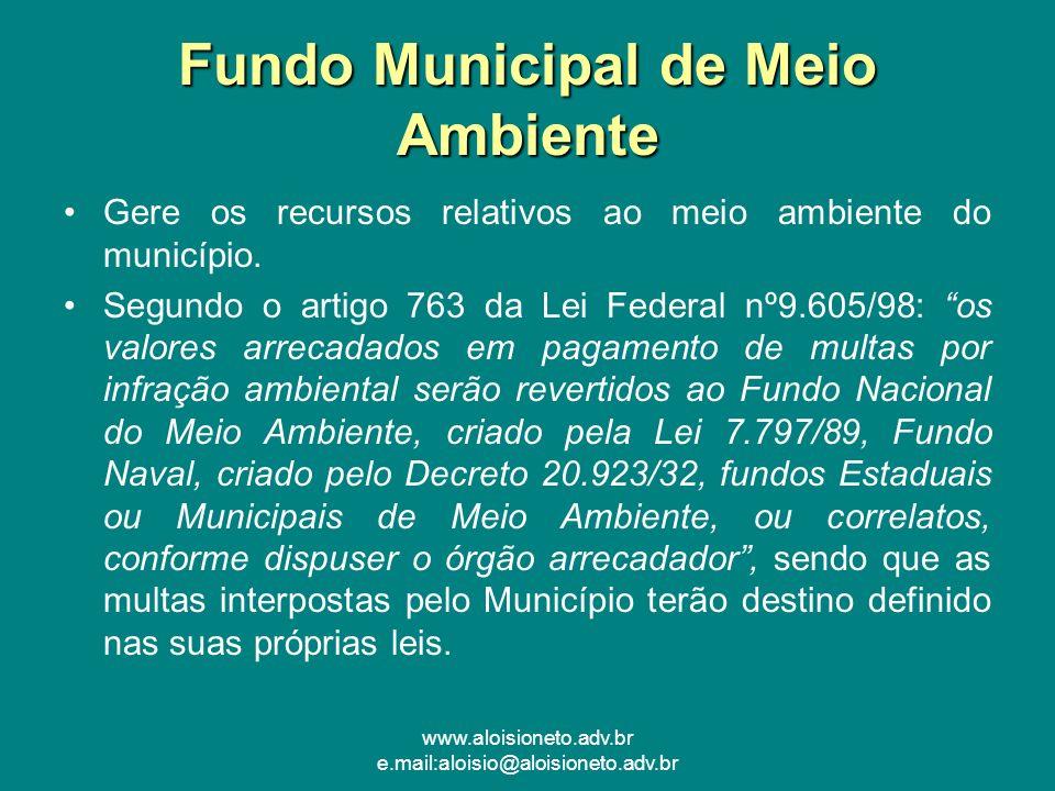 Fundo Municipal de Meio Ambiente
