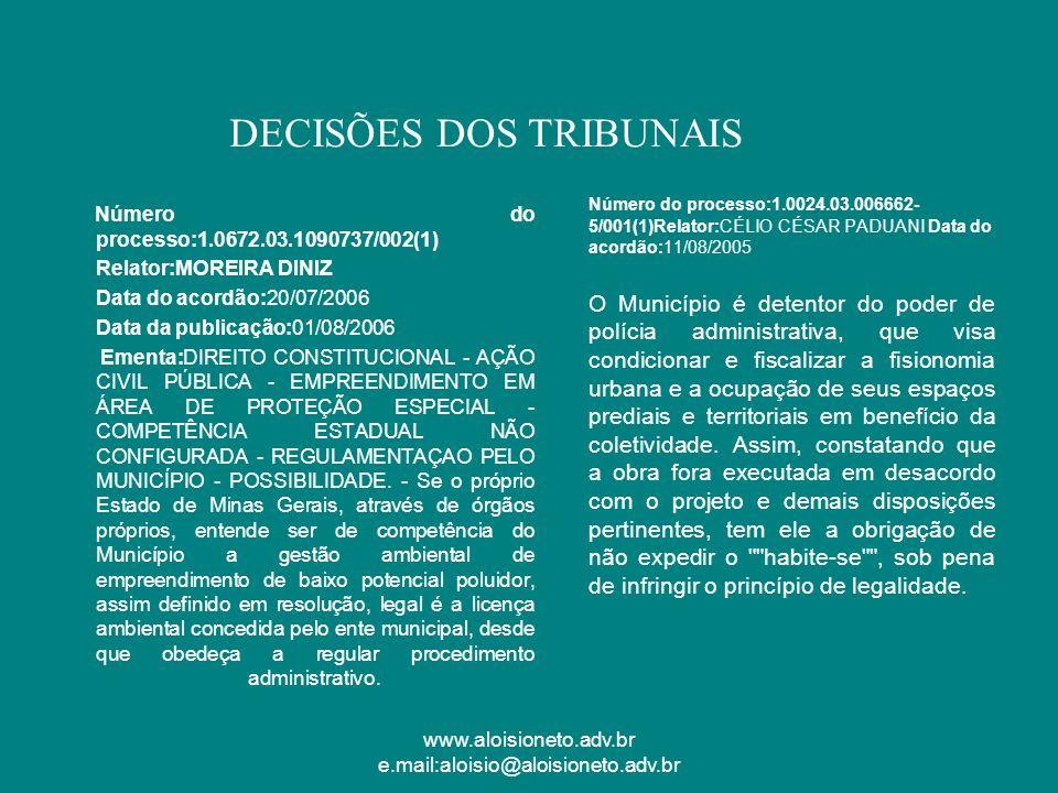 www.aloisioneto.adv.br e.mail:aloisio@aloisioneto.adv.br