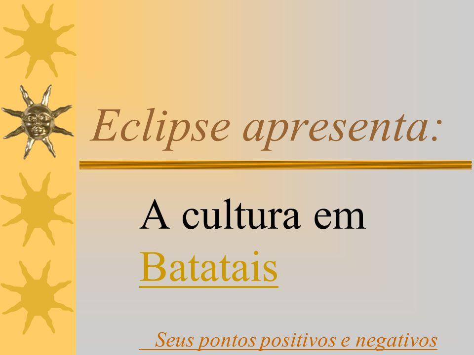 A cultura em Batatais Seus pontos positivos e negativos