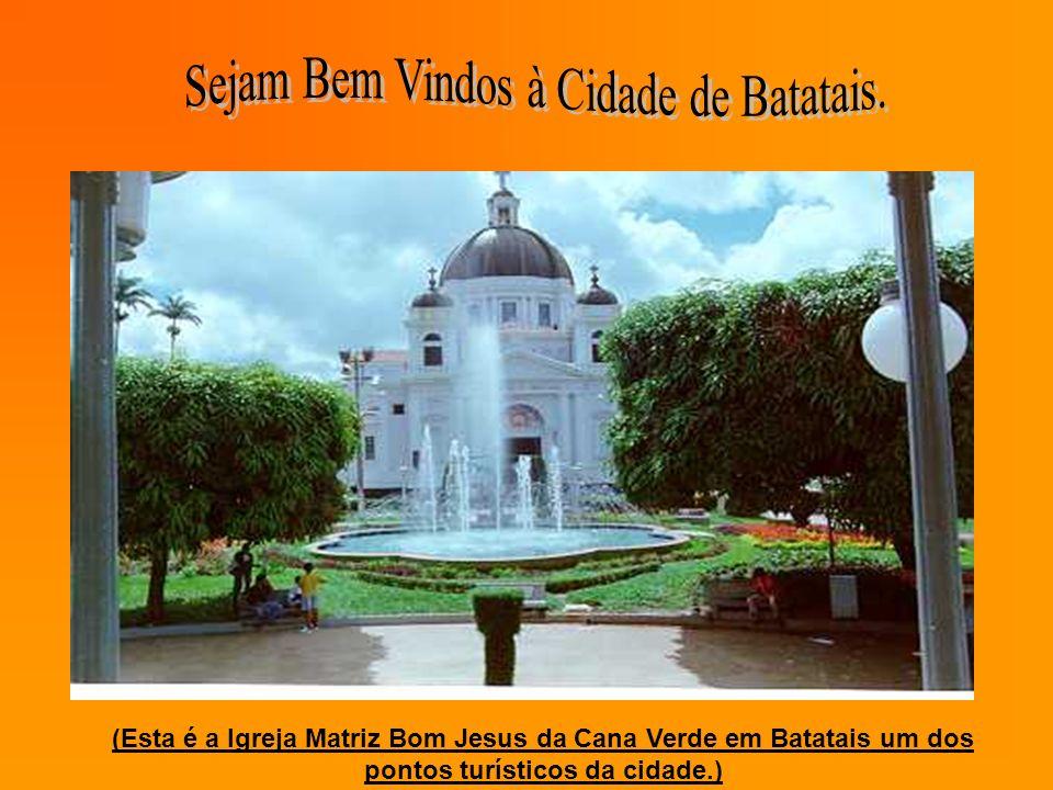 Sejam Bem Vindos à Cidade de Batatais.