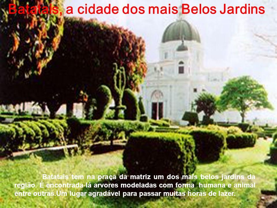 Batatais, a cidade dos mais Belos Jardins