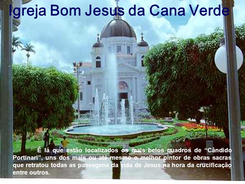 Igreja Bom Jesus da Cana Verde