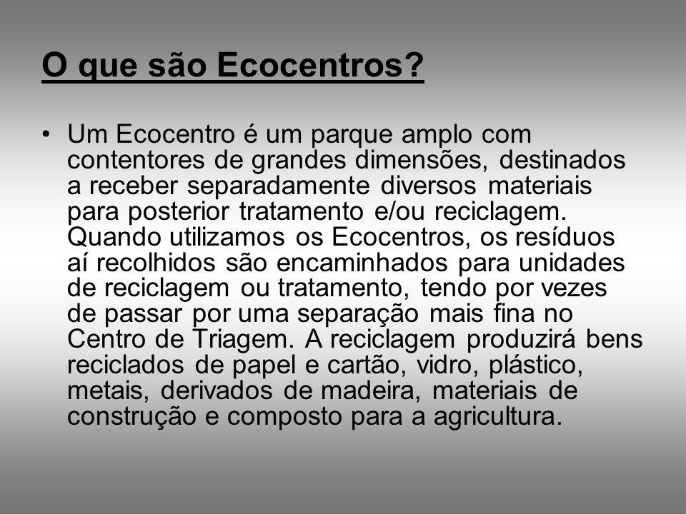 O que são Ecocentros