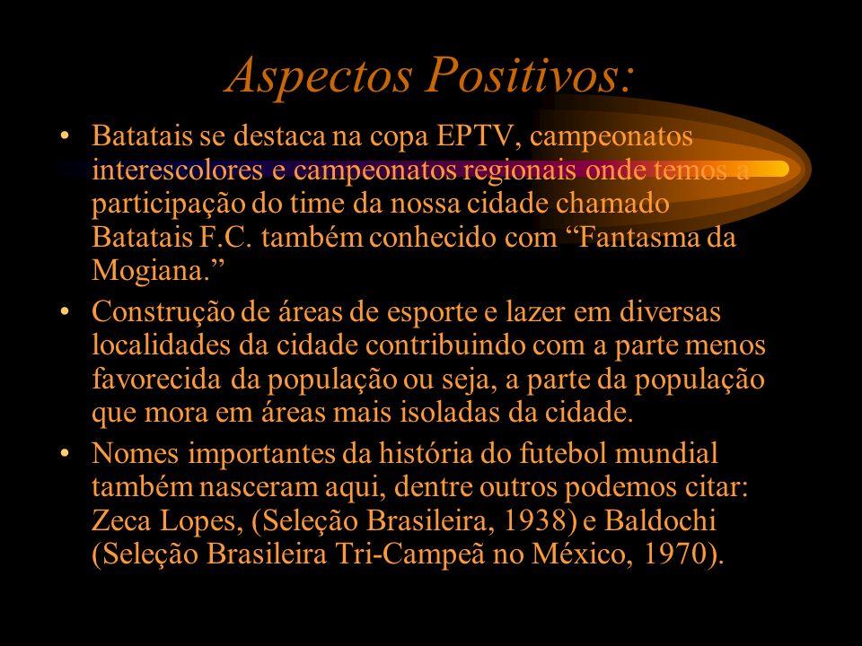 Aspectos Positivos: