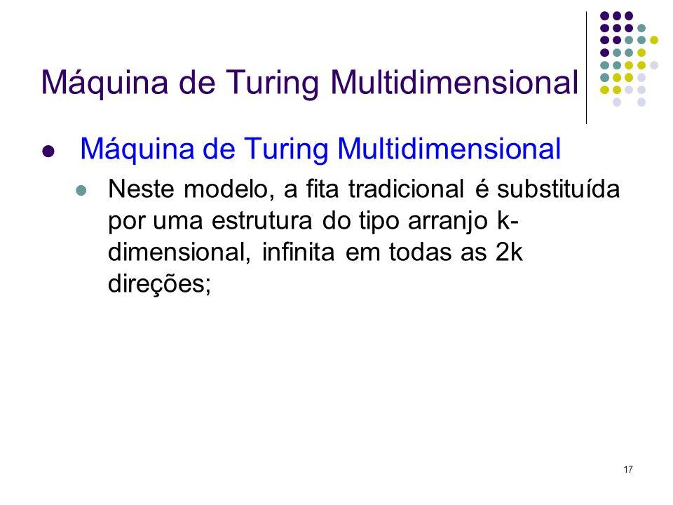 Máquina de Turing Multidimensional