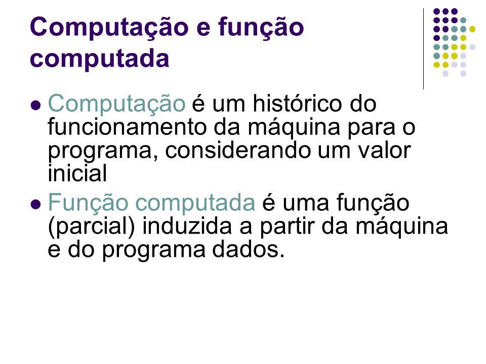 Computação e função computada