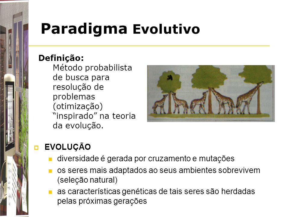 Paradigma Evolutivo Definição: