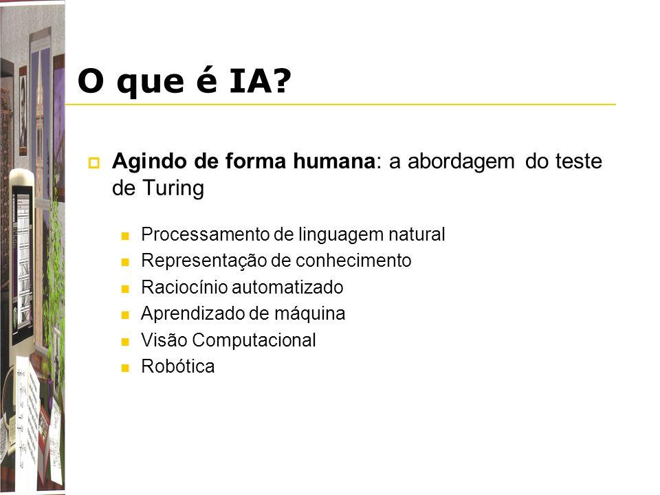 O que é IA Agindo de forma humana: a abordagem do teste de Turing