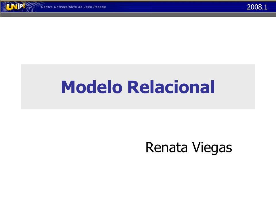 Modelo Relacional Renata Viegas