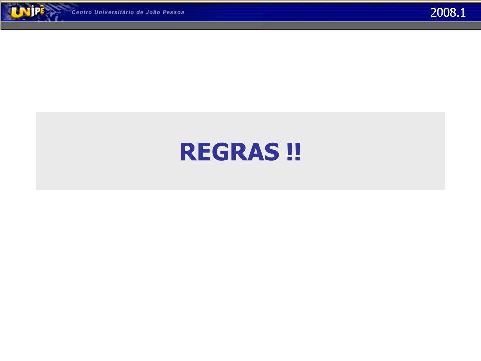 REGRAS !!