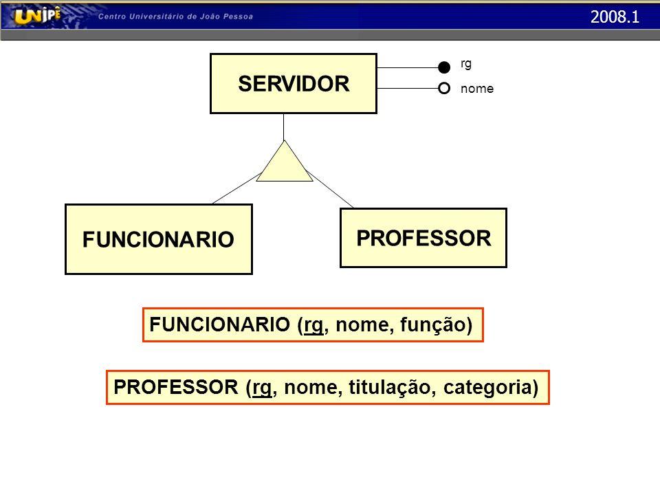 SERVIDOR FUNCIONARIO PROFESSOR