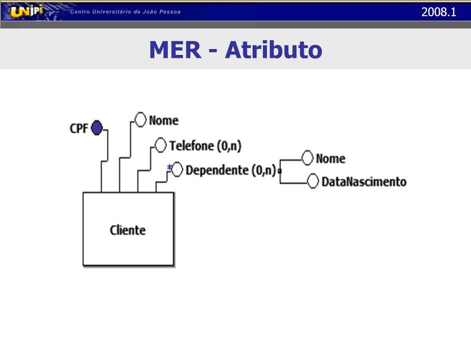 MER - Atributo