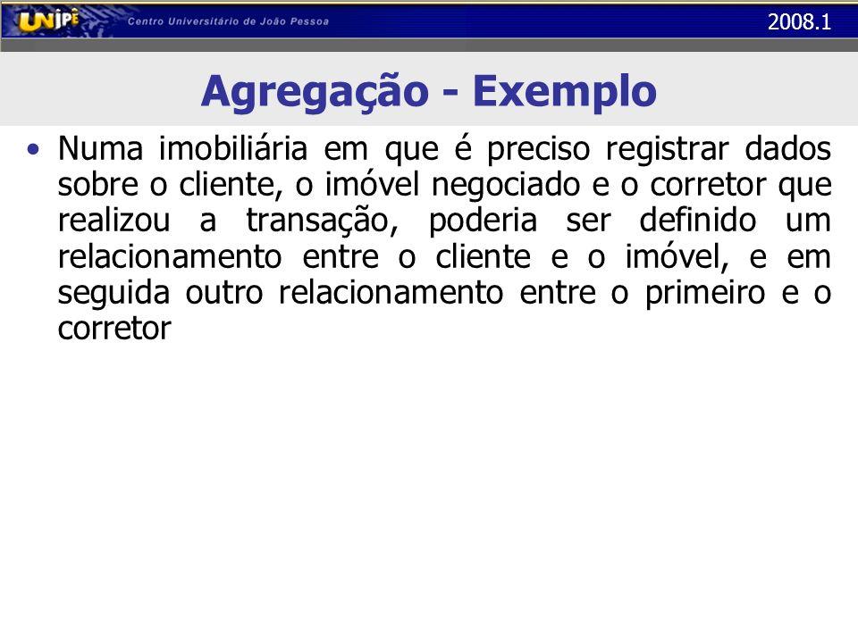 Agregação - Exemplo