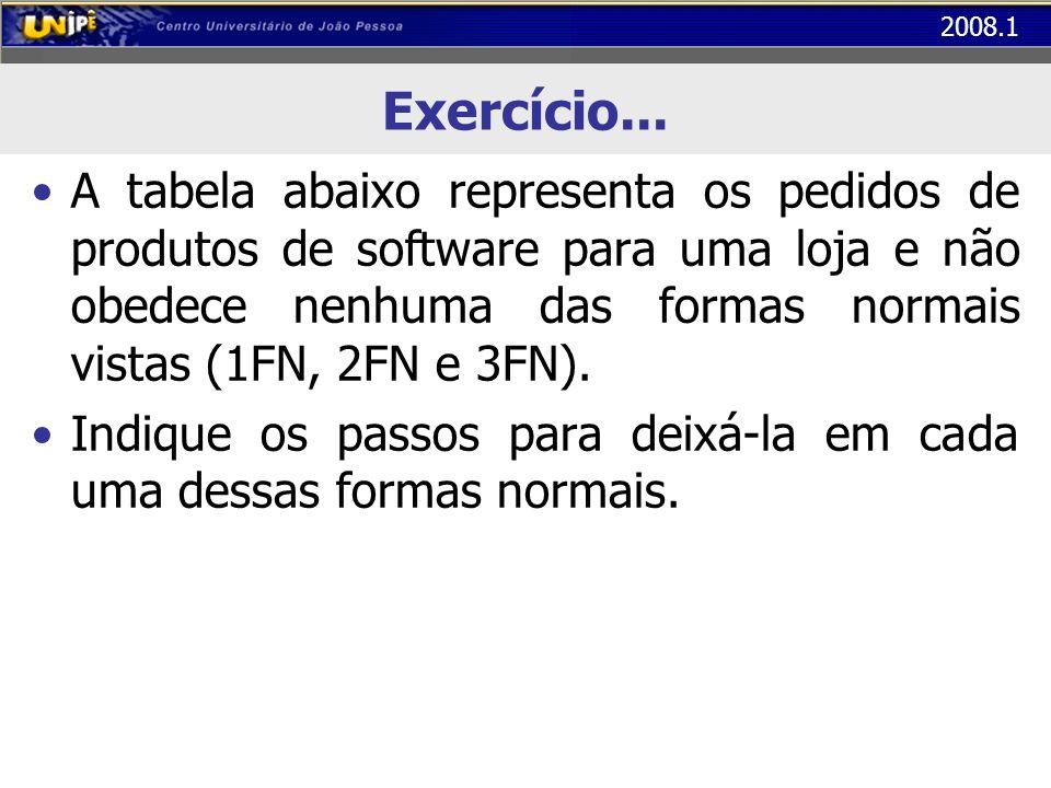 Exercício...