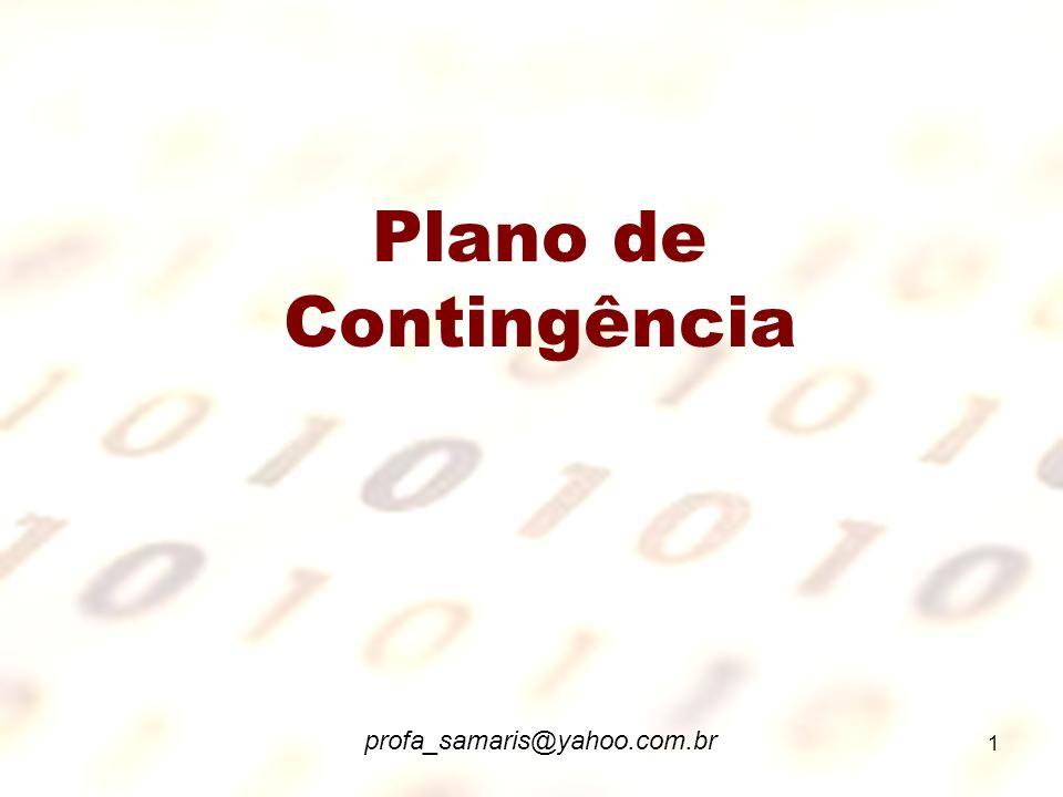 Plano de Contingência profa_samaris@yahoo.com.br