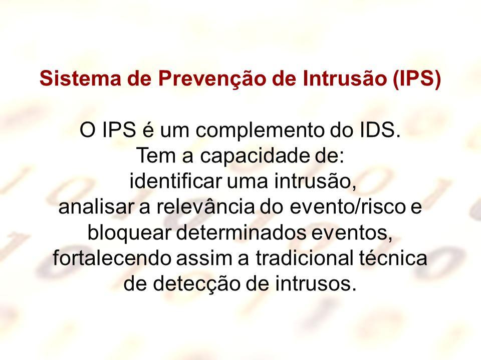 Sistema de Prevenção de Intrusão (IPS)