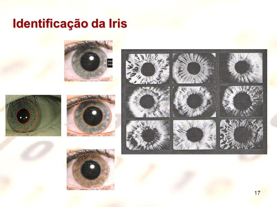 Identificação da Iris